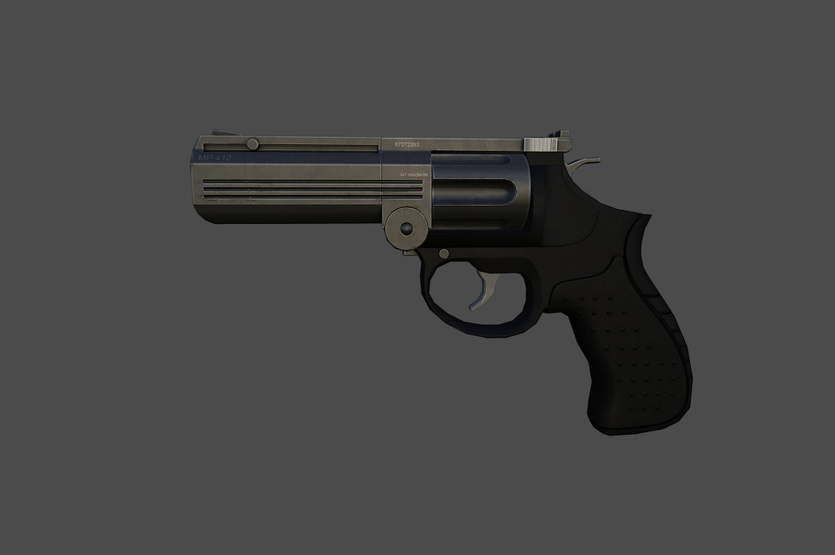 mp412 freefall 3d model