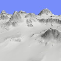 Snowy Terrain TM1-01