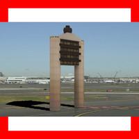 3d boston logon airport tower