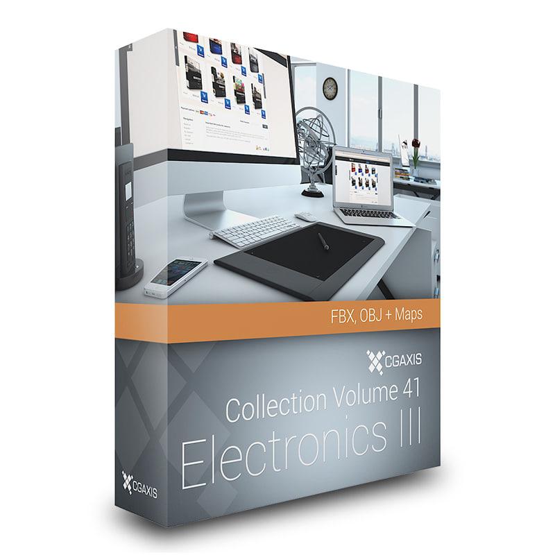 3d volume 41 electronics iii
