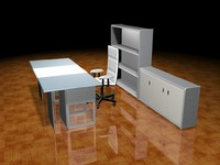 3d table office