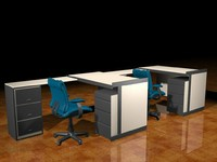 Office tables (with chairs)