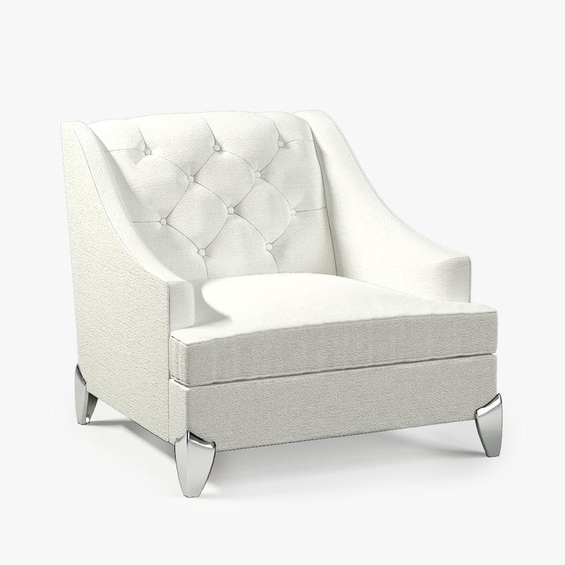 3ds max jnl lamartine armchair
