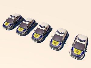 3dsmax policia local