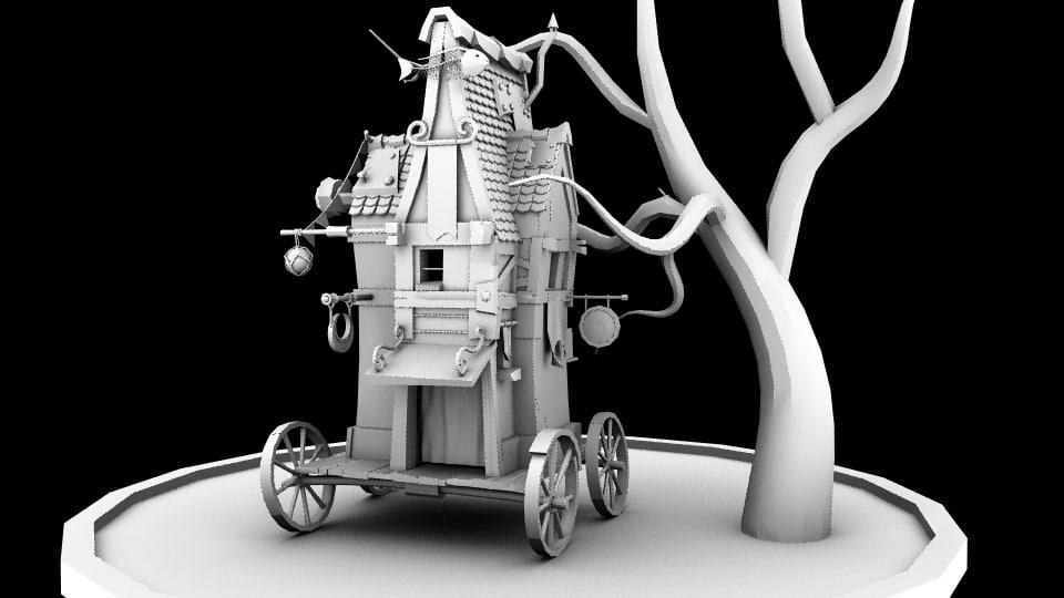 maya magic cart