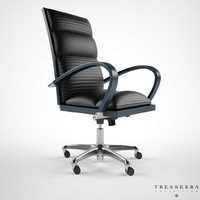 treserra casablanca desk chair 3d max