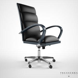 treserra casablanca desk chair 3d max