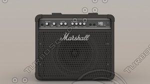 3ds max marshall bass combo