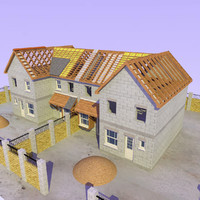 Semi Detached House Construction