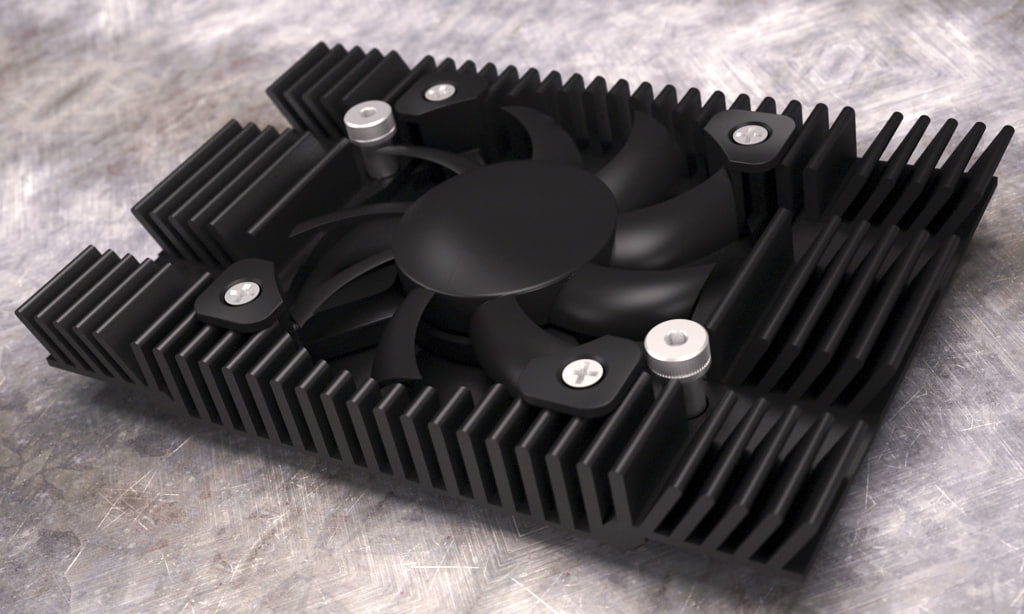 max heatsink graphics card