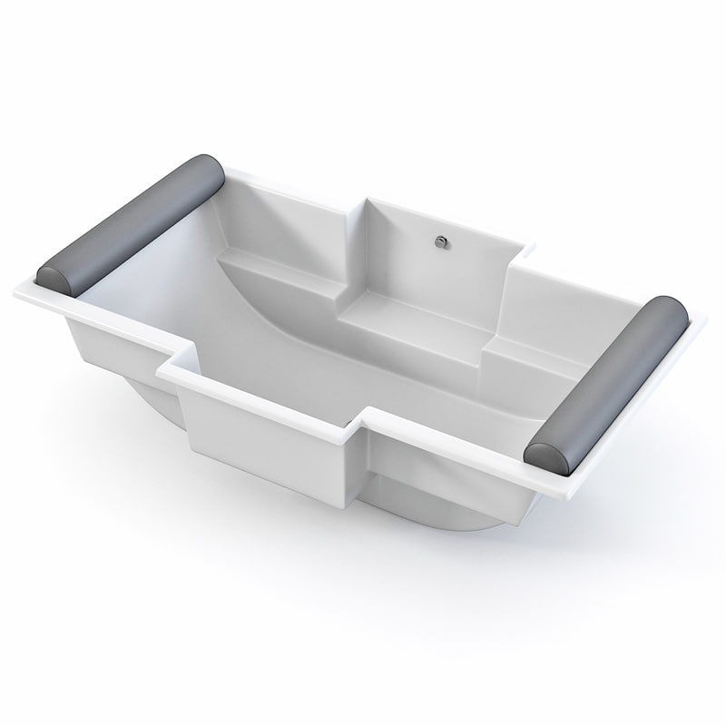 3ds max bora bathtub bath