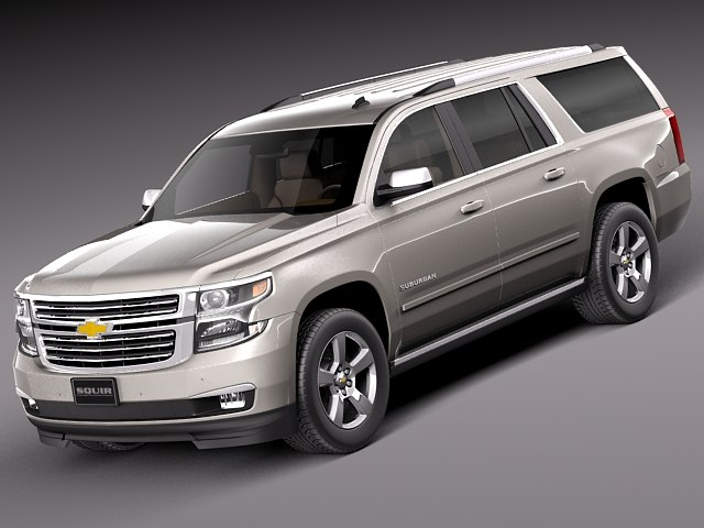 3d 2014 2015 suv chevrolet chevy model