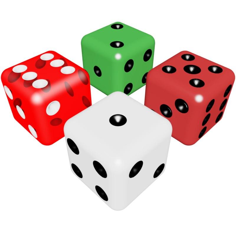 dice dies 3d model