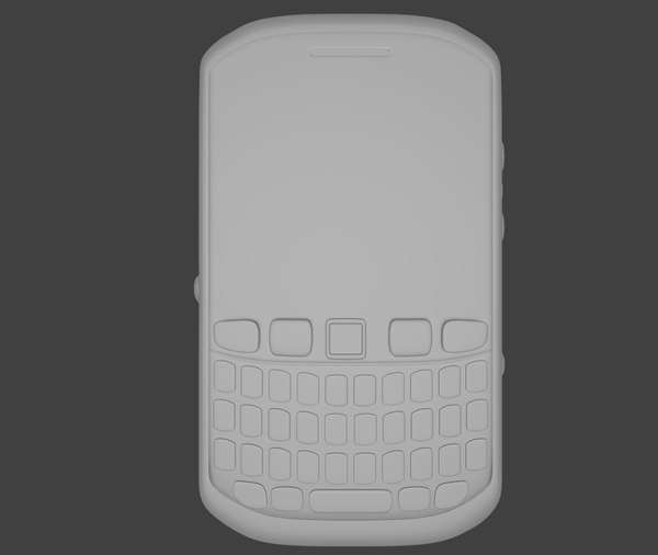free blackberry 3d model