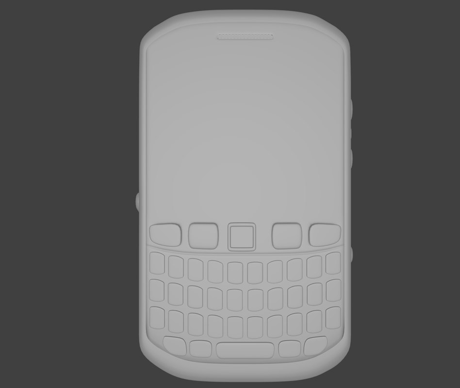 free blackberry 3d model