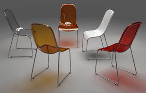 max polycarbonate chair gilda