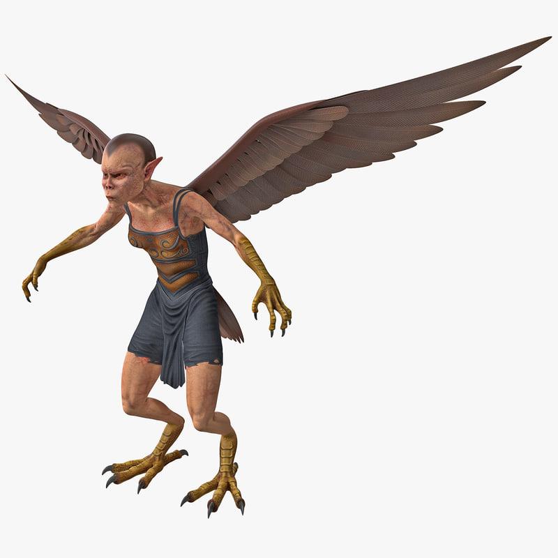 3d harpy