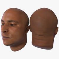 male head 8 3d c4d