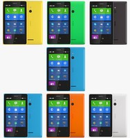 nokia xl color 3d dxf