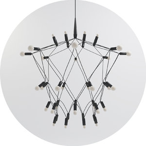 orbit chandelier 40 max