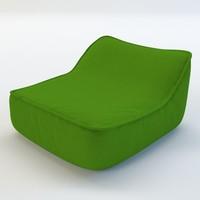 chair sofa 3d c4d