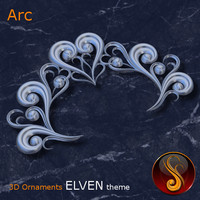 Arc Elven 3D Ornament