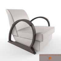 3d hugues chevalier liberty armchair model