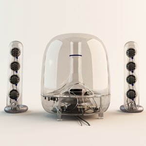 3ds max harman kardon soundsticks