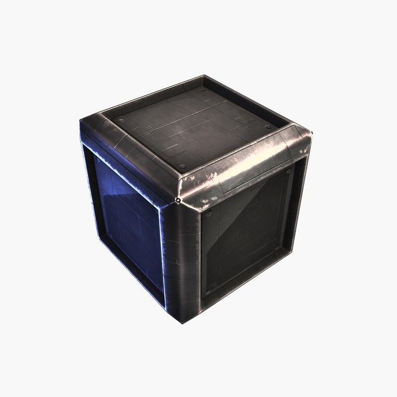 sci-fi container 3 steel max