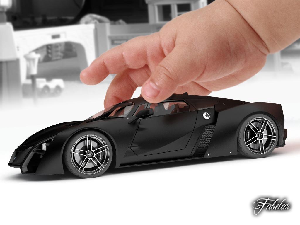 3d model marussia b2