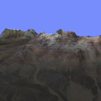 3d model terrain alm-06
