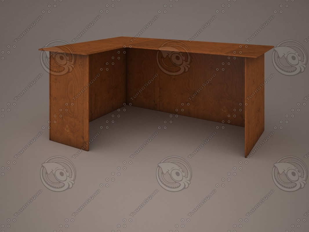 3ds max simple wood table