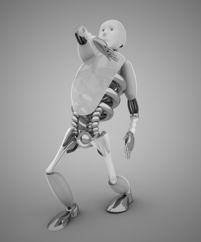 max robot rigging
