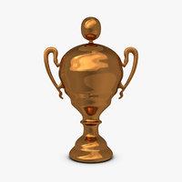 3dsmax trophy cup 12