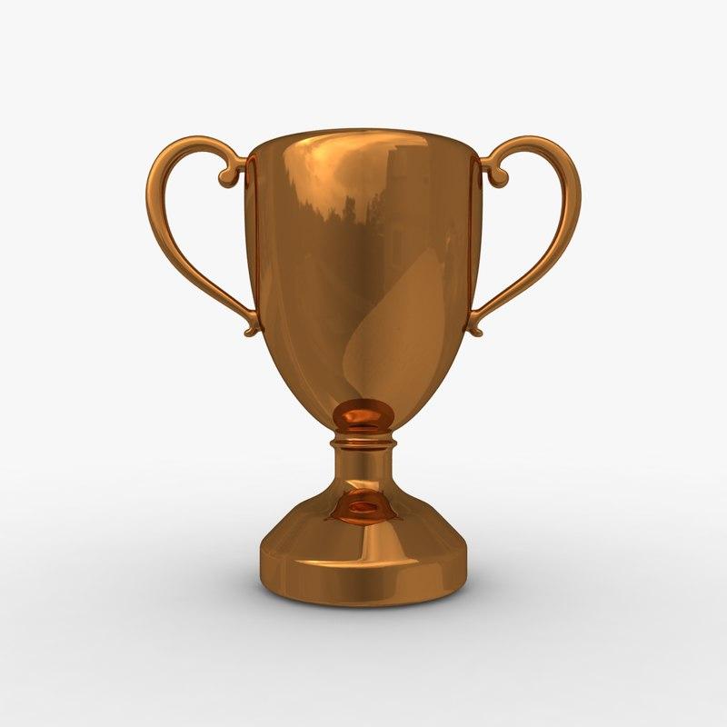 obj trophy cup 8
