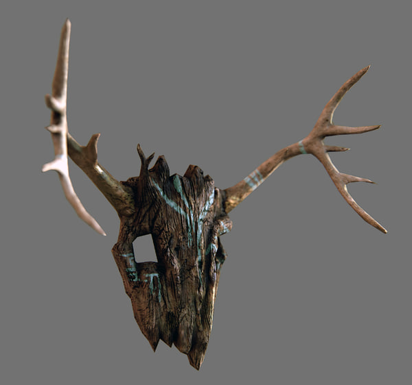 ancients mask 3d model