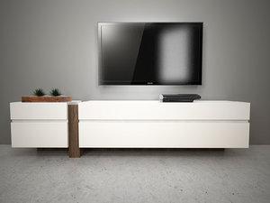 3d design cabinet model