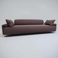 modern sofa moroso obj