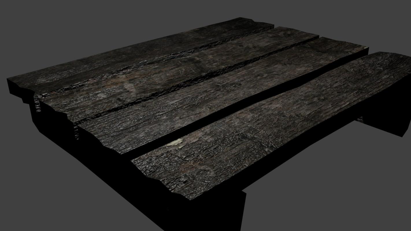 maya wooden platform