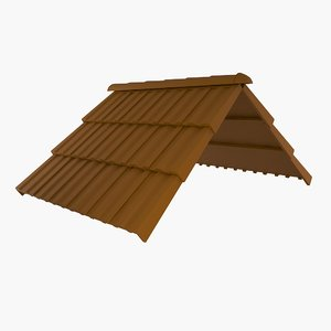 3ds max roof tiles