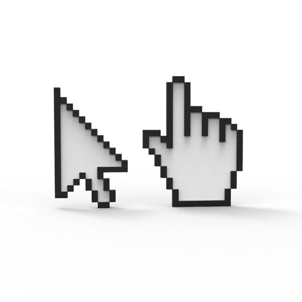 click 3d model