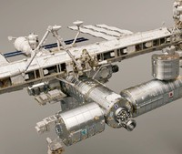 3ds max international space station