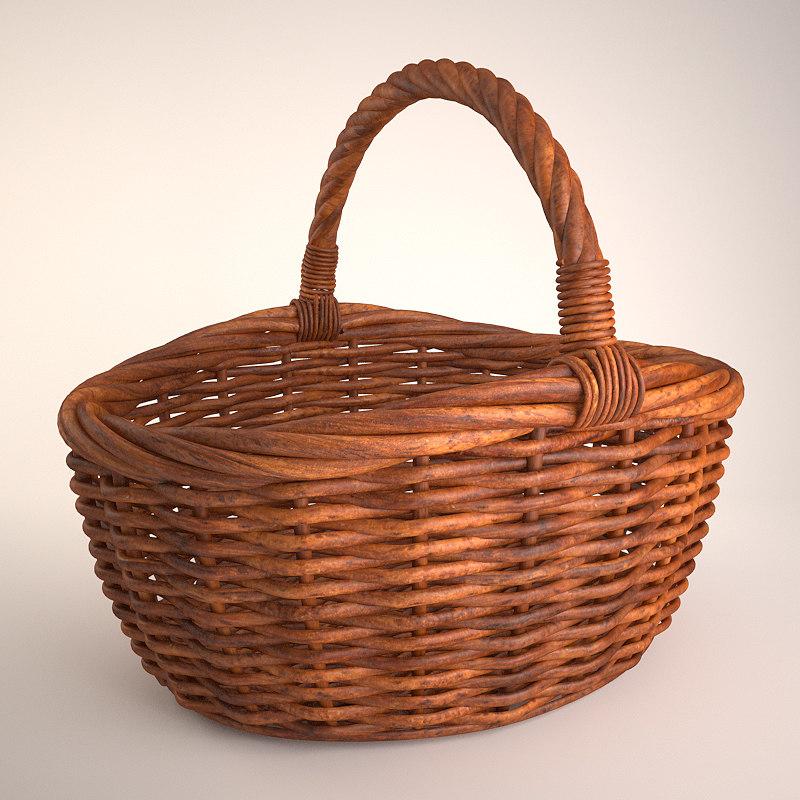 wicker basket 3 max