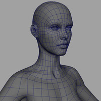 female base 3d obj