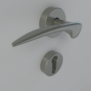 handle door 3d fbx