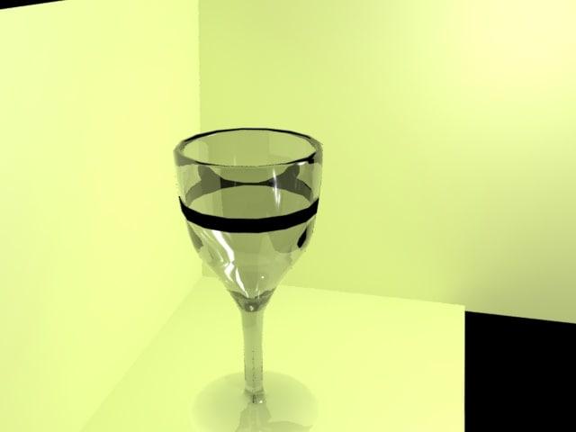 glass 3d max