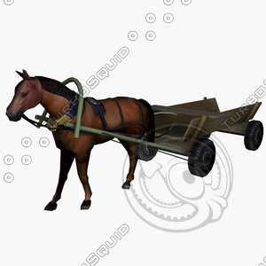 horse 3ds