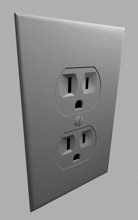 3d model type outlet