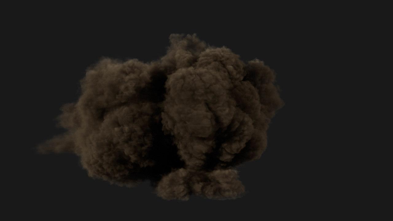 large scale smoke max