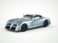 3d panoz abuzzi 2014 model